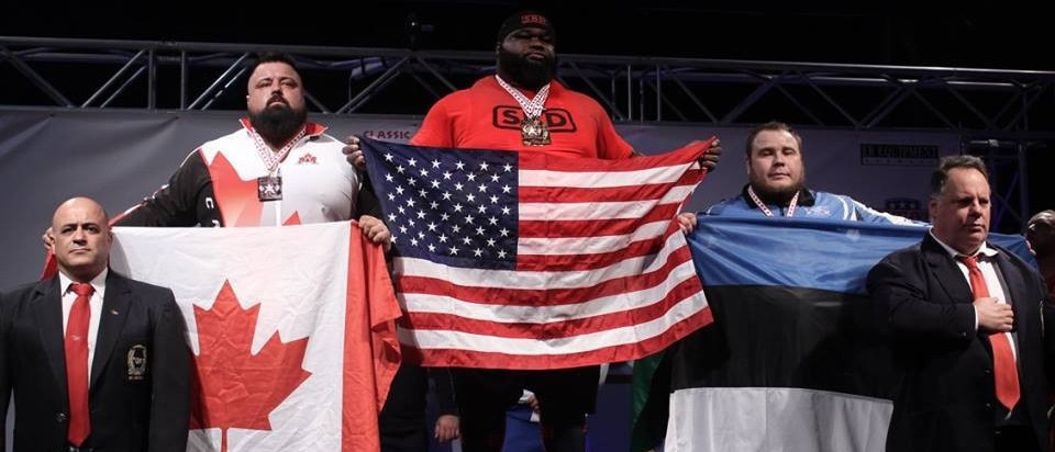 Williams claims final gold of IPF World Classic Powerlifting Championships
