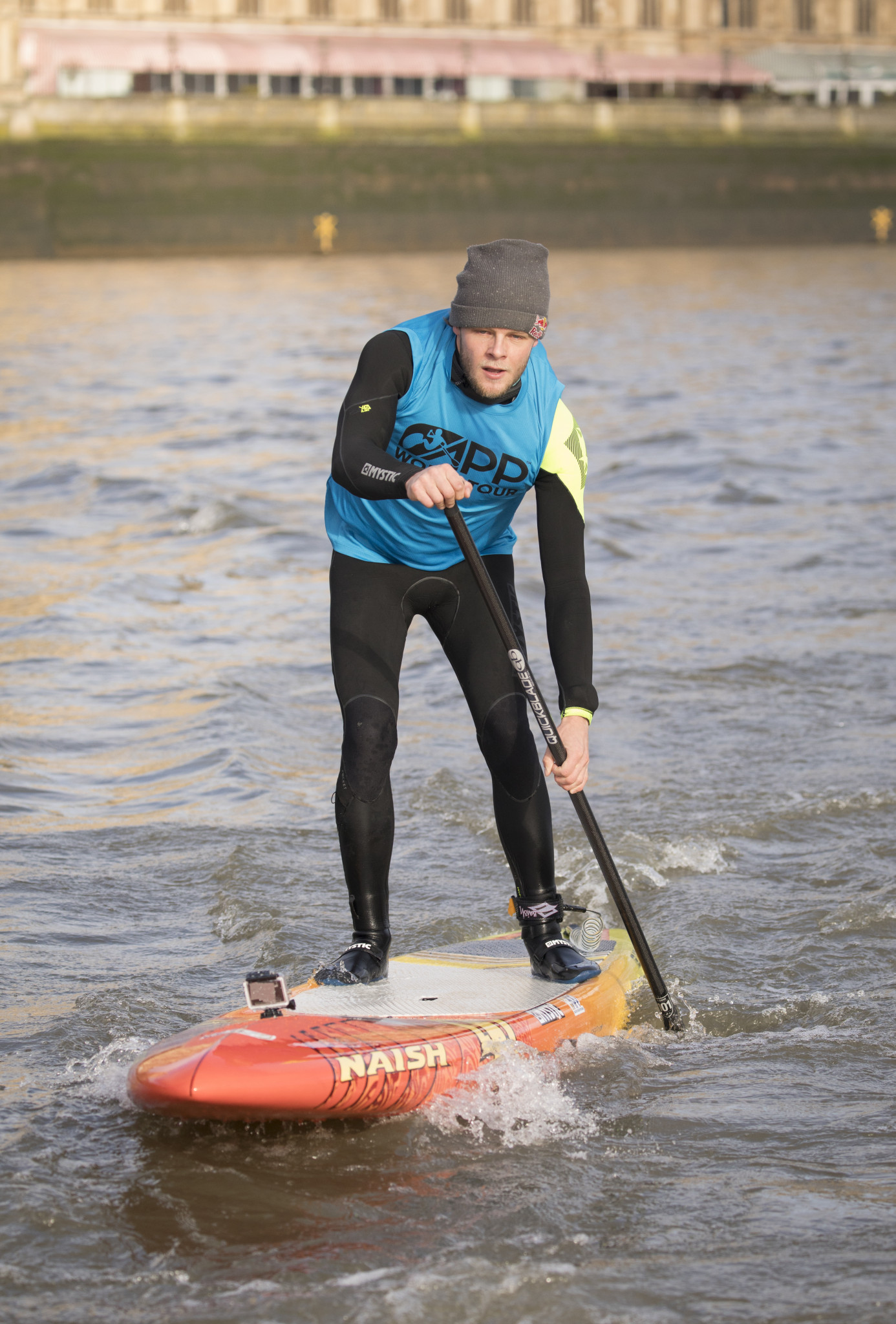 Casper Steinfath, a four-time SUP world champion and ISA vice-president, has claimed he can say
