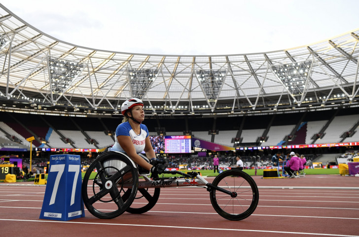 Britain's Hannah Cockroft, pictured at last year's Para Athletics World Championships, will return to the London track this summer for the Anniversary Games ©Getty Images