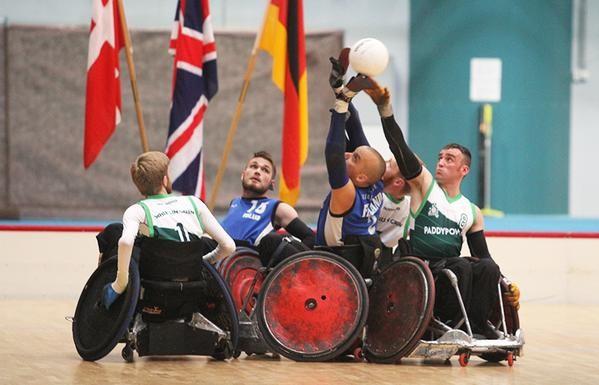 Ireland shock hosts in thrilling start to European Wheelchair Rugby Championships in Finland