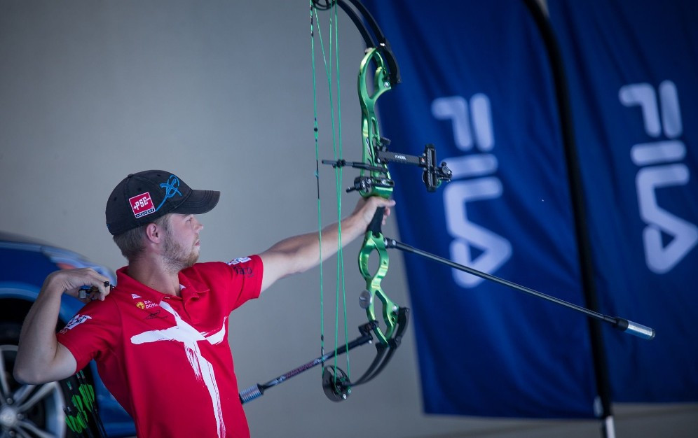 World number one Stephan Hansen will have his sights set on gold in Salt Lake City ©World Archery