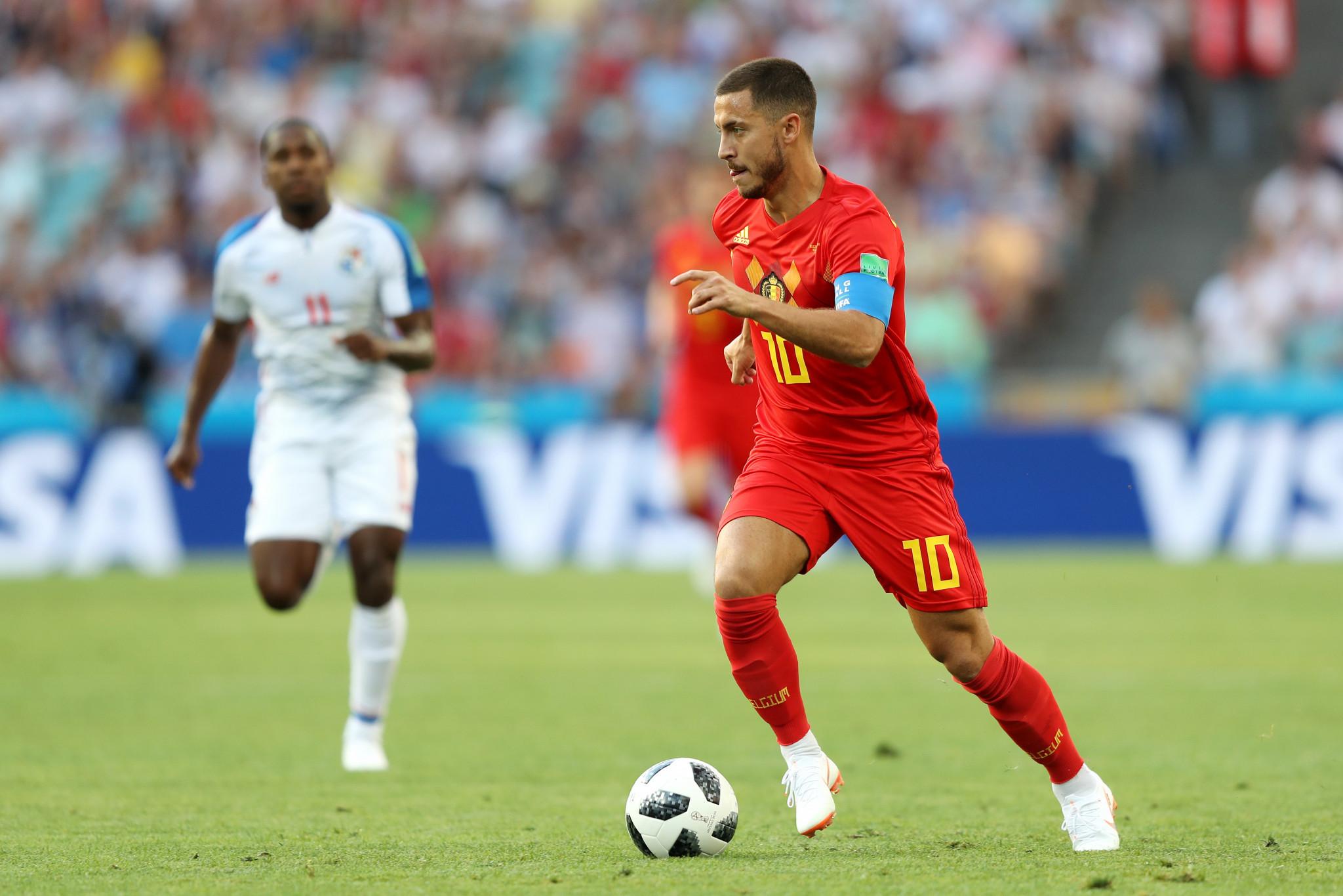 Eden Hazard was a constant danger for Belgium ©Getty Images