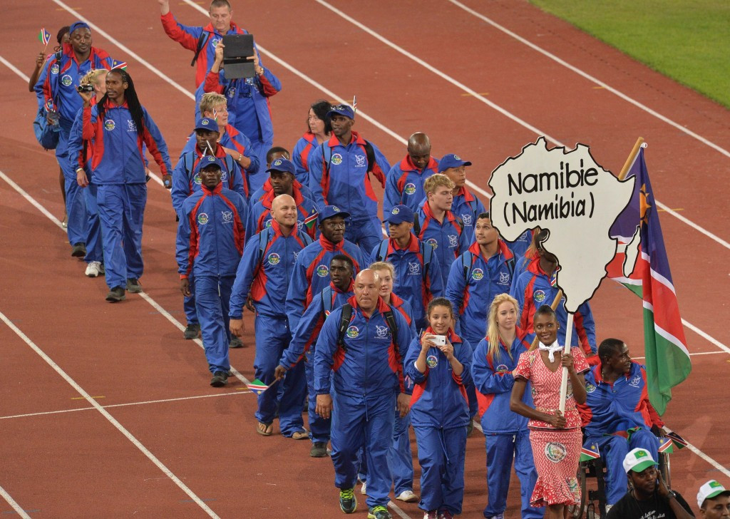 Namibia's Shinkongo wins 100m T11 gold at All-Africa Games