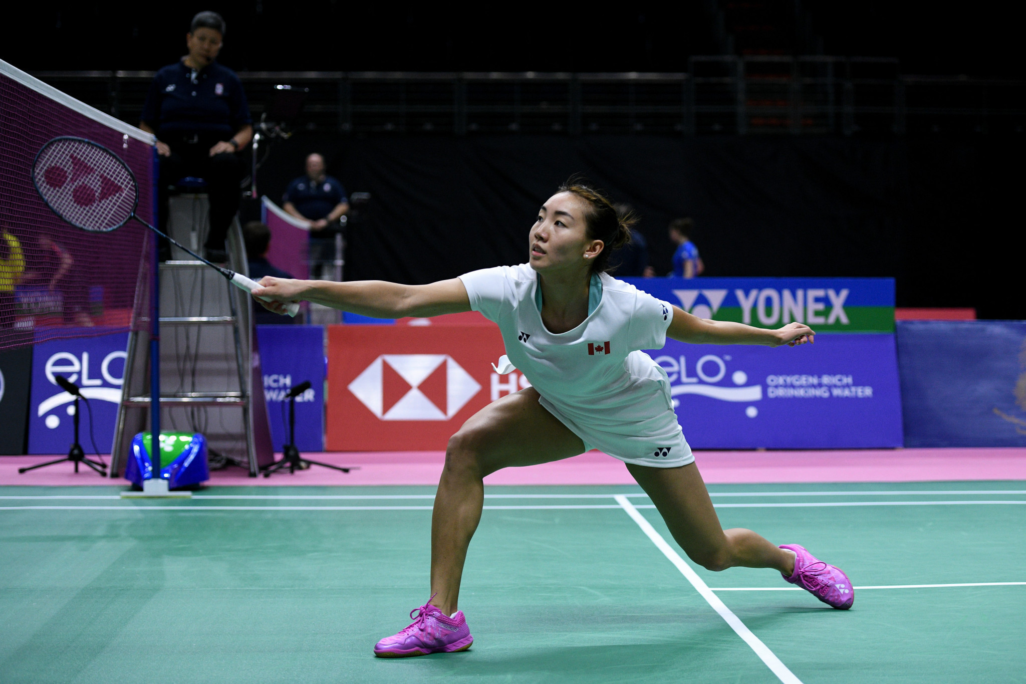 Home favourite Michelle Li is seeded first for this week's Badminton World Federation Canada Open in Calgary ©Getty Images