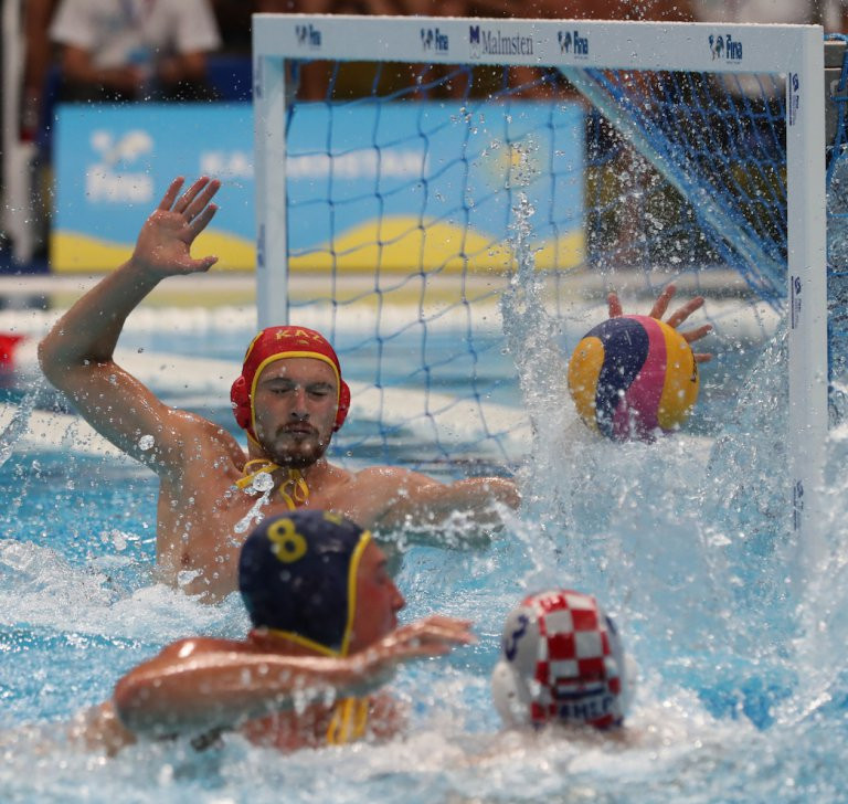 World champions Croatia start FINA Water Polo World League Super Final with easy win