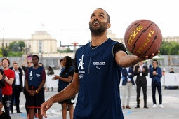 French NBA star Parker named as first Paris 2024 education ambassador