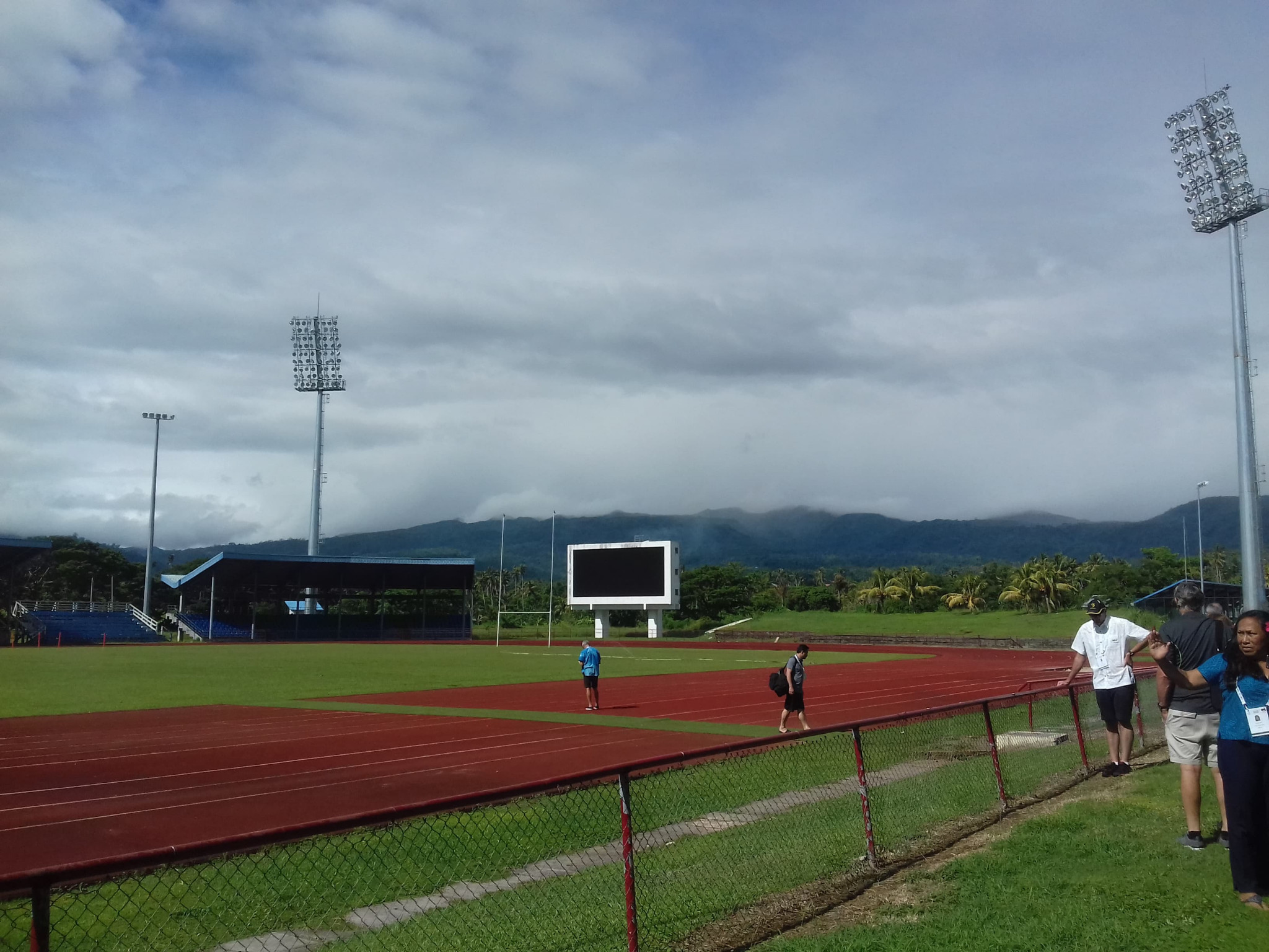 Samoa 2019 vow Pacific Games will leave strong legacy as organisers host venue tour