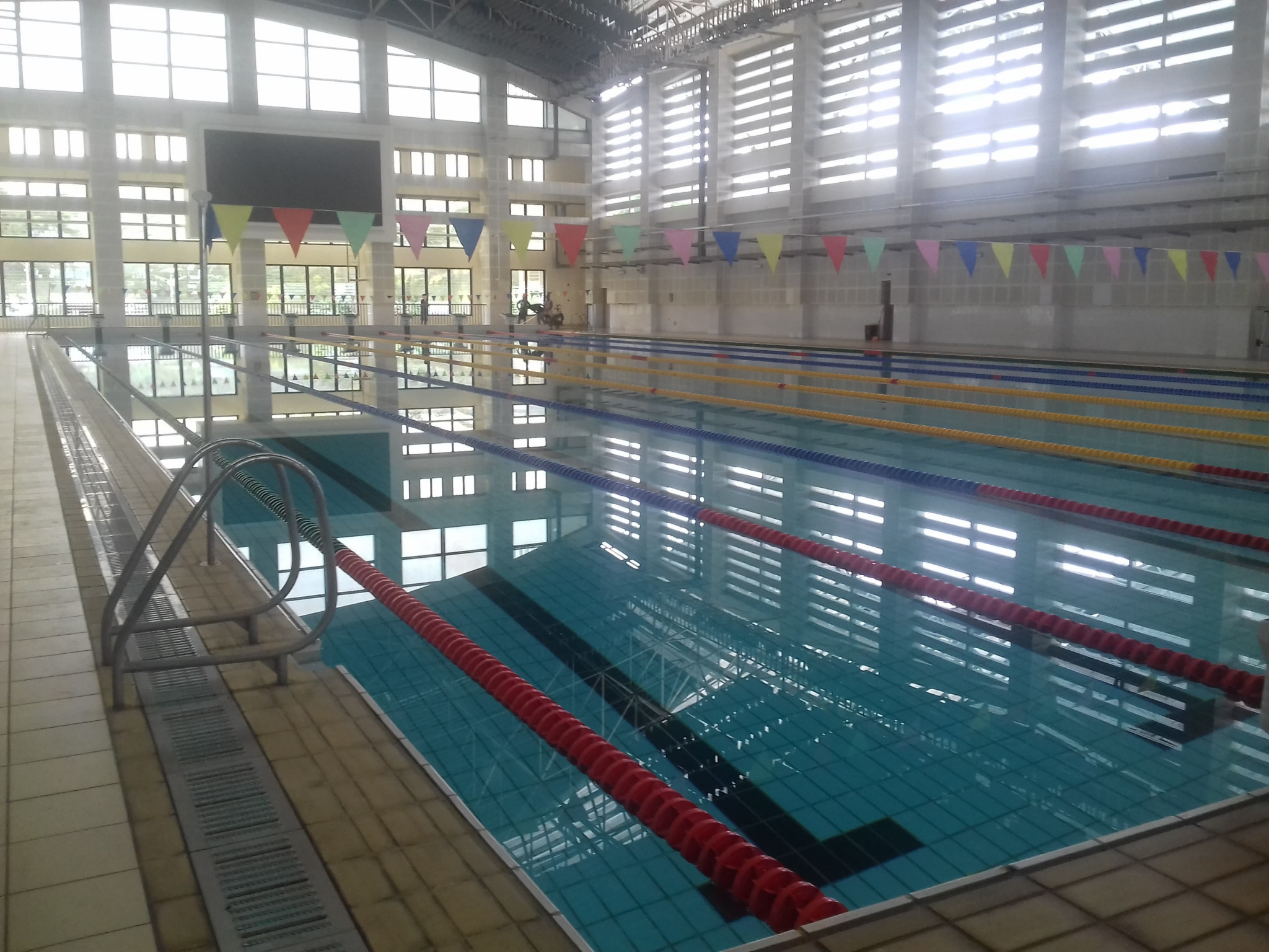 The Faleata swimming venue will be refurbished for the Games ©ITG