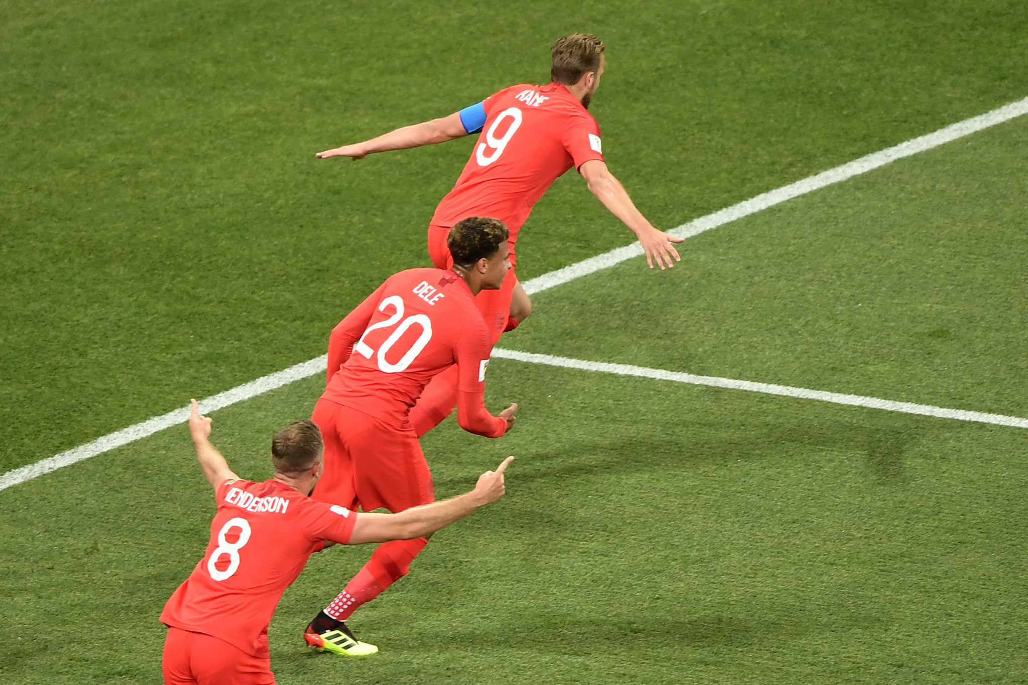 Harry Kane also scored twice for England ©Getty Images