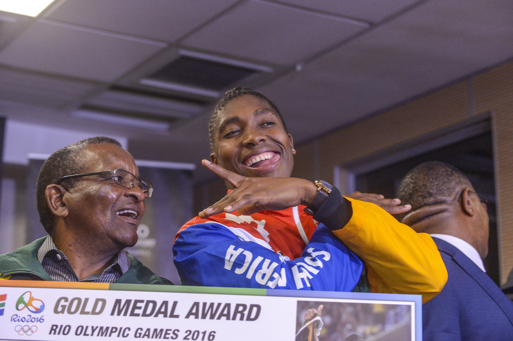 Caster Semenya is at the centre of the argument over the new rules ©Getty Images