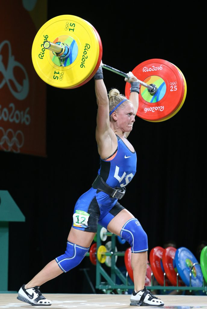 US Olympian Morghan King is one of two named Athlete Role Models in weightlifting at Buenos Aires 2018 ©IWF