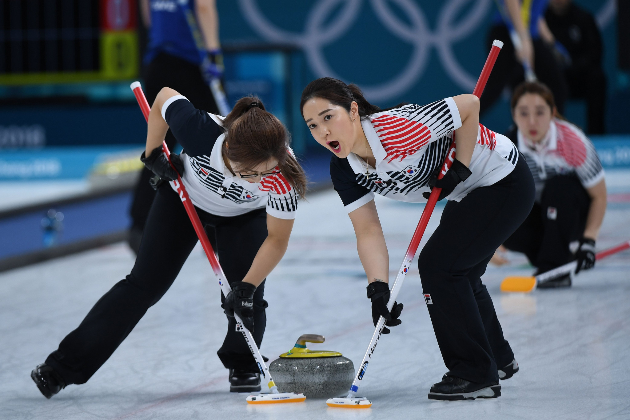 The curling proved very popular at the Pyeongchang Winter Olympics earlier this year, with the South Korean women eventually claiming the silver medal ©Getty Images