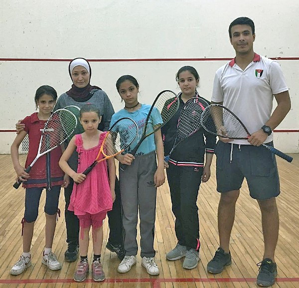 WSF and Squash Dreamers unite to help displaced Syrians