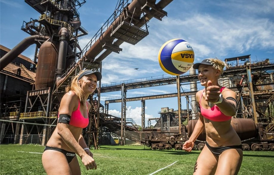 Ostrava prepares to host Czech Republic's first double gender FIVB Beach World Tour event