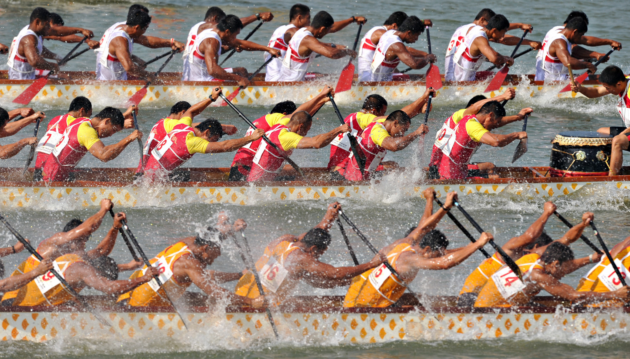 Dragon boat racing emerges as unlikely platform for inter Korean peace at Asian Games