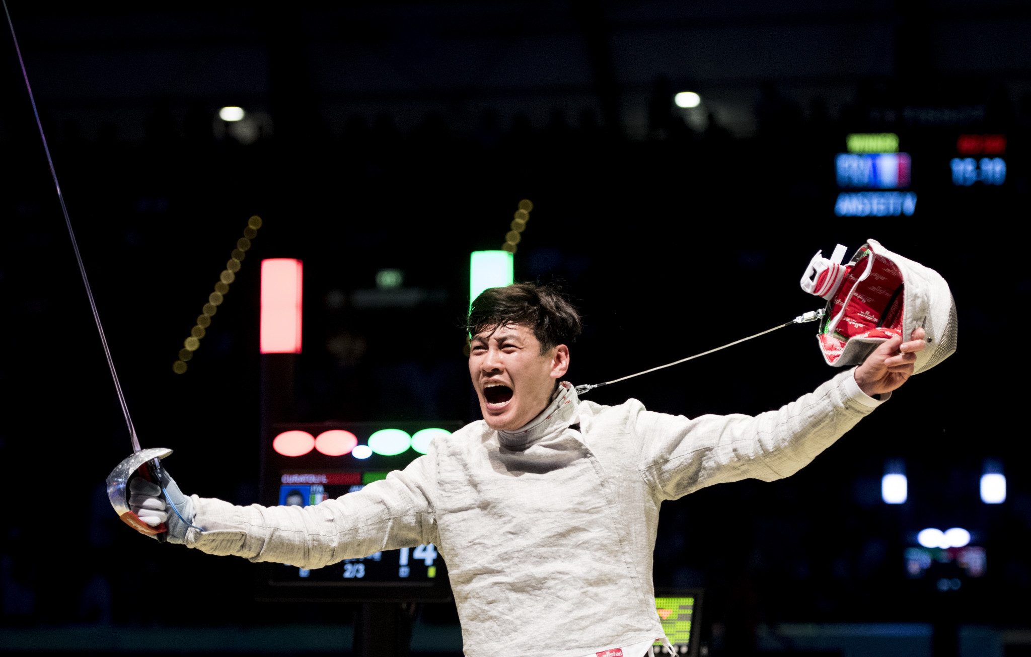 World number one Bongil Gu has won the senior men's sabre title at the Asian Championships in Bangkok ©Getty Images
