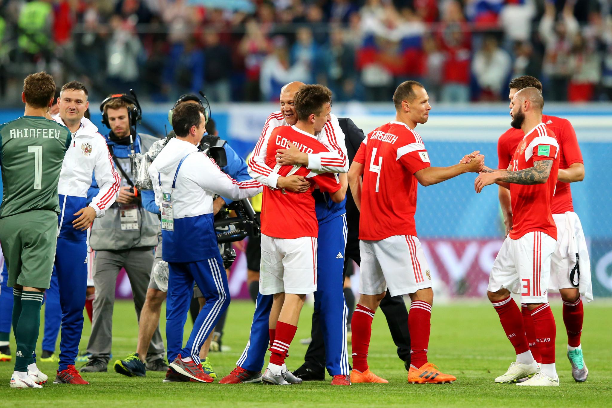 Russia win again as Senegal and Japan enjoy FIFA World Cup success