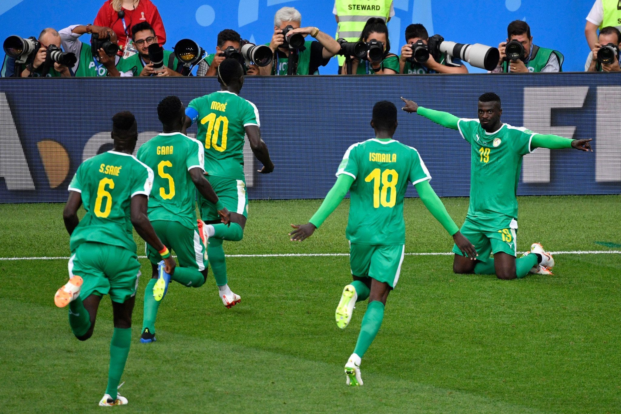 Senegal were winners over Poland today ©Getty Images