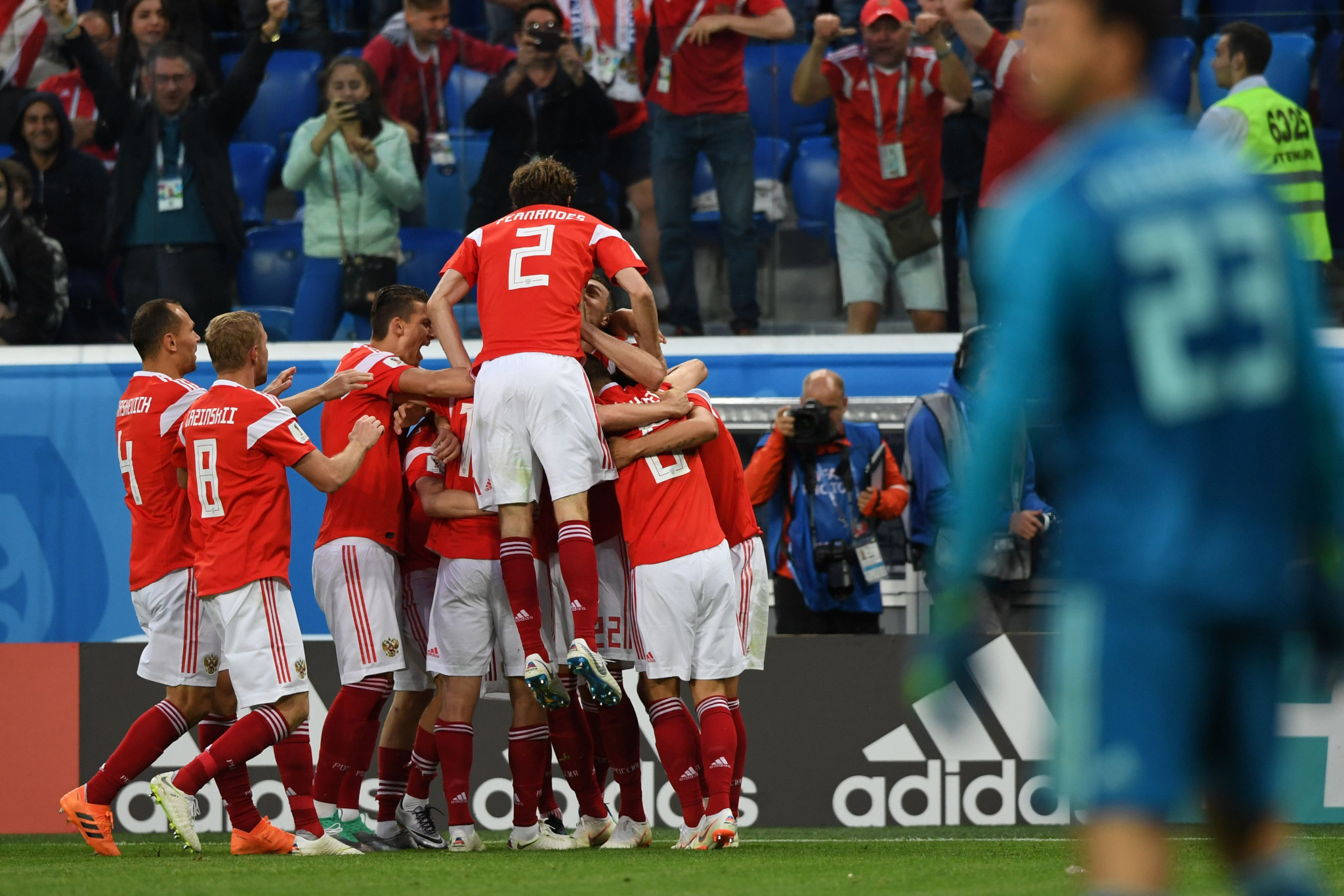 More Russian success and Japanese surprise at FIFA World Cup