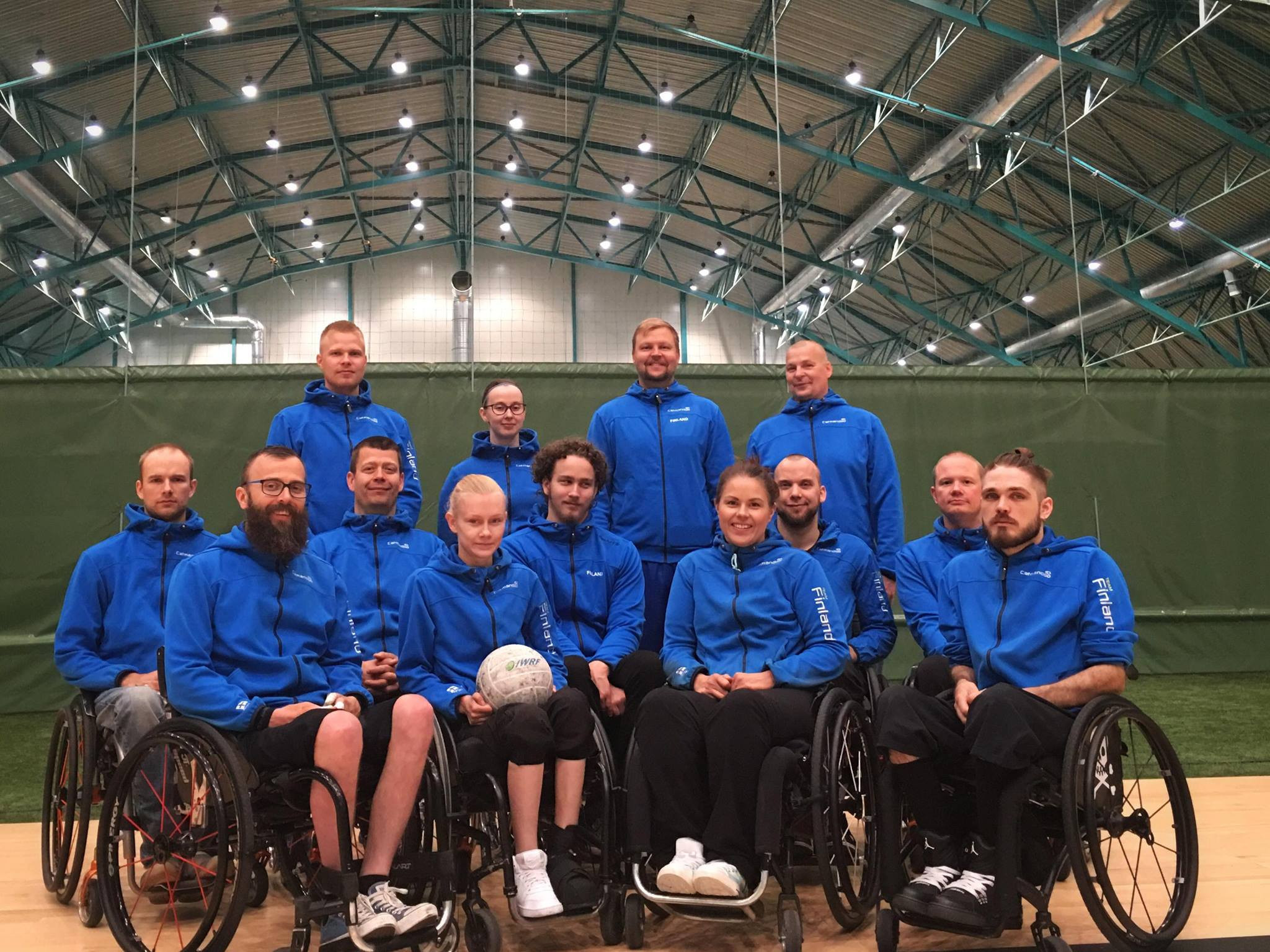 Hosts Finland are 11th in the current IWRF world rankings ©Finnish Wheelchair Rugby
