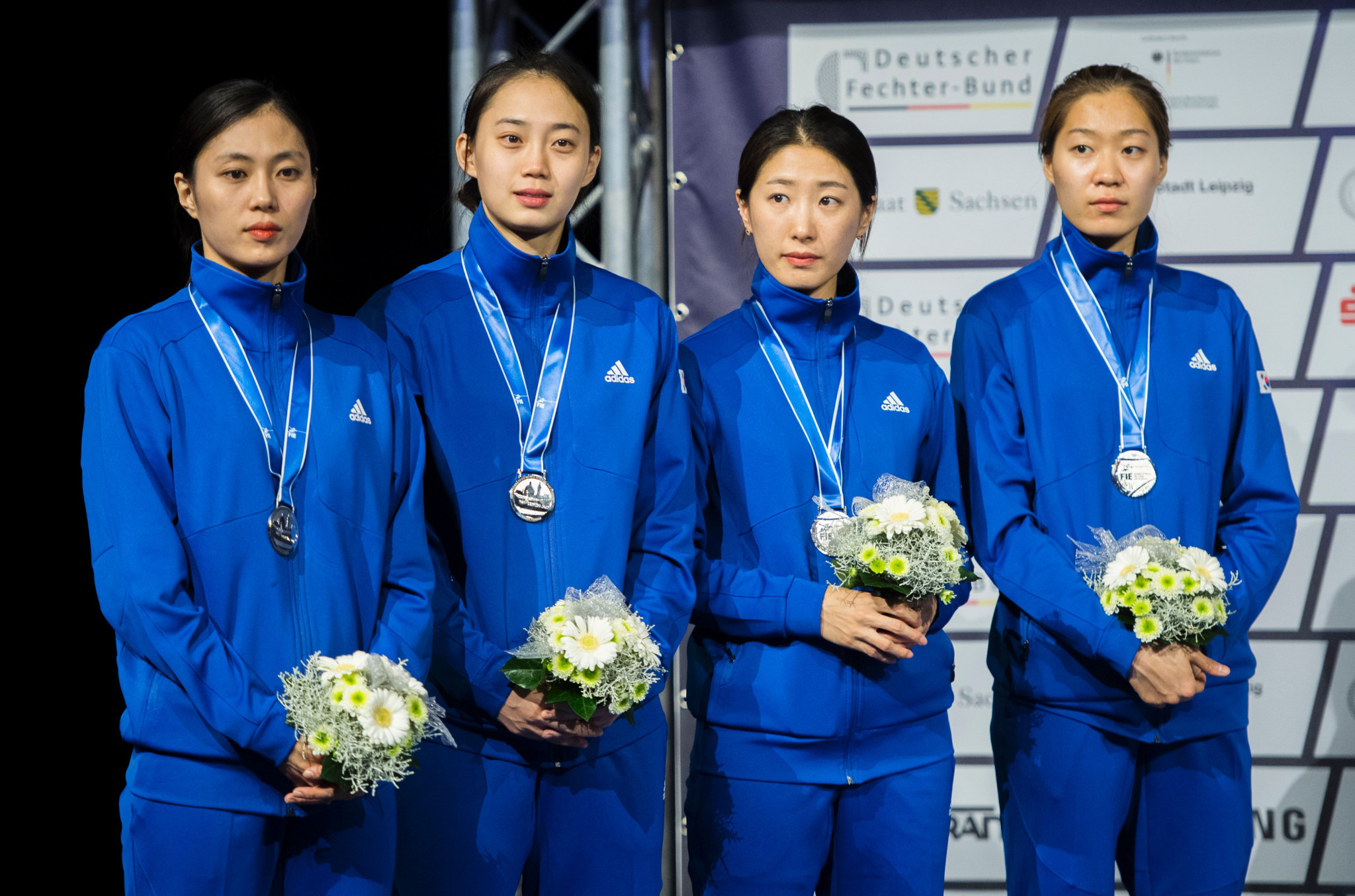 South Korea also had to settle for the silver medal at last year's World Championships after losing to Italy there ©Getty Images