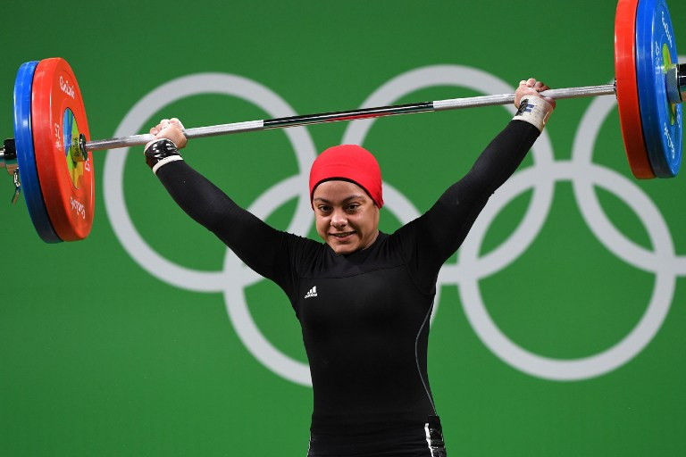 Egypt's Olympic bronze medallist Sarah Ahmed will miss Tokyo 2020 if her country is banned ©Getty Images