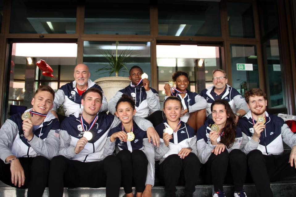 The United States completed a clean sweep of the team titles on the last day of the Pan American Fencing Championships in Havana ©USA Fencing/Facebook