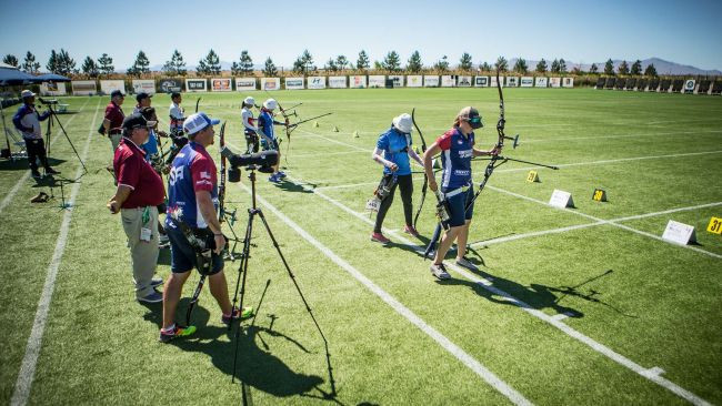 Home advantage helps America thrive at Archery World Cup in Salt Lake City