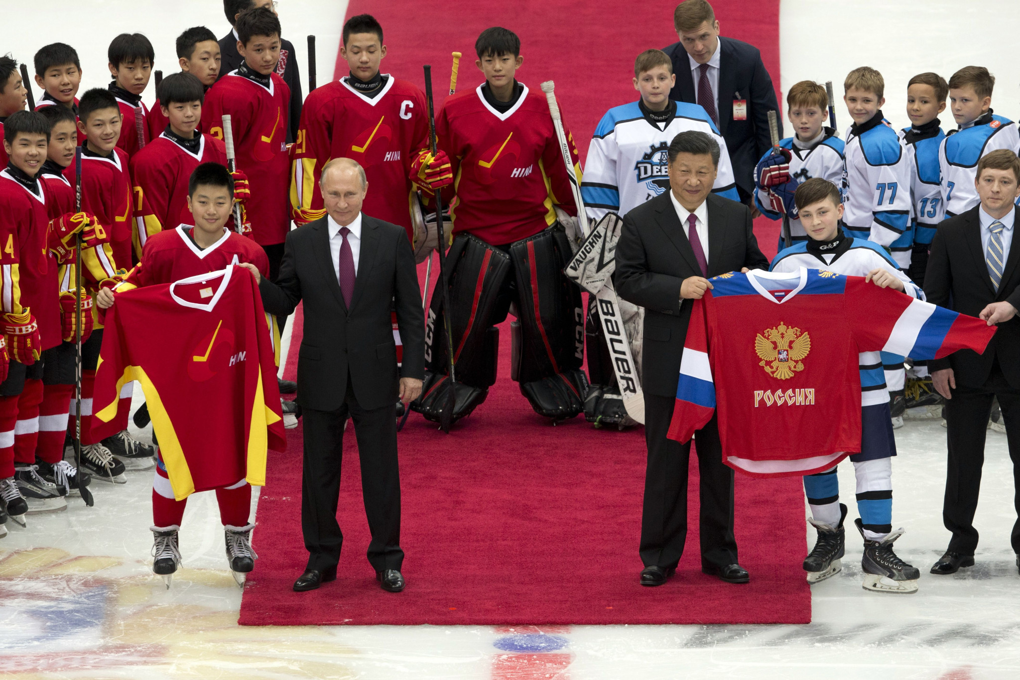 "Putin hails China as ""fast learner"" with country striving for ice hockey development prior to Beijing 2022"