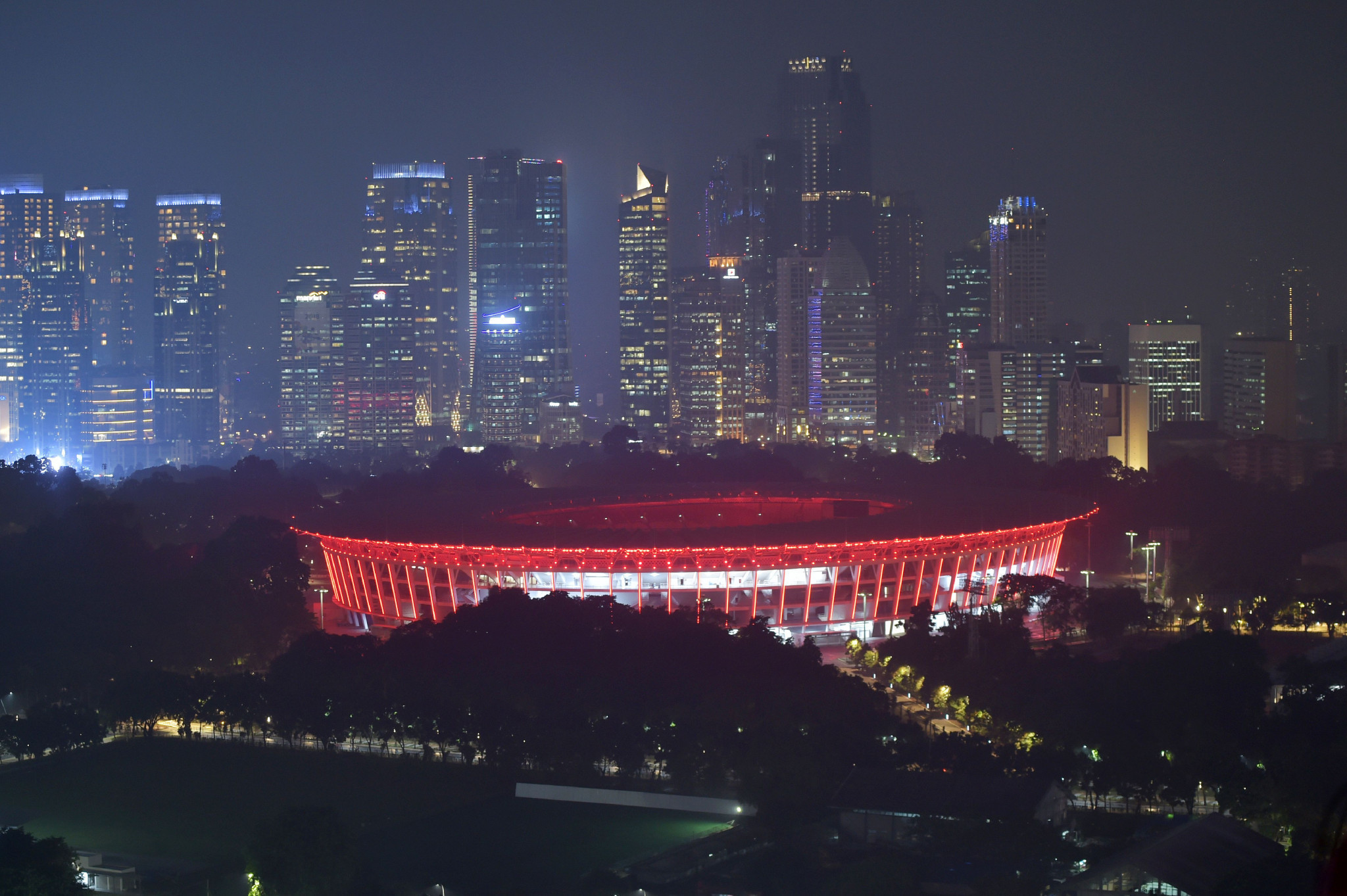 The Gelora Bung Karno Main Stadium in Jakarta will host the Opening Ceremony on August 18 ©Getty Images