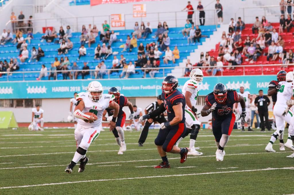 Mexico beat US to move to brink of third-straight World University American Football Championships crown