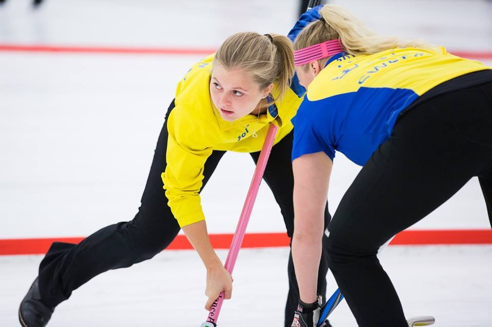 Sweden maintain 100 per cent record at World Mixed Curling Championships after overcoming Irish test