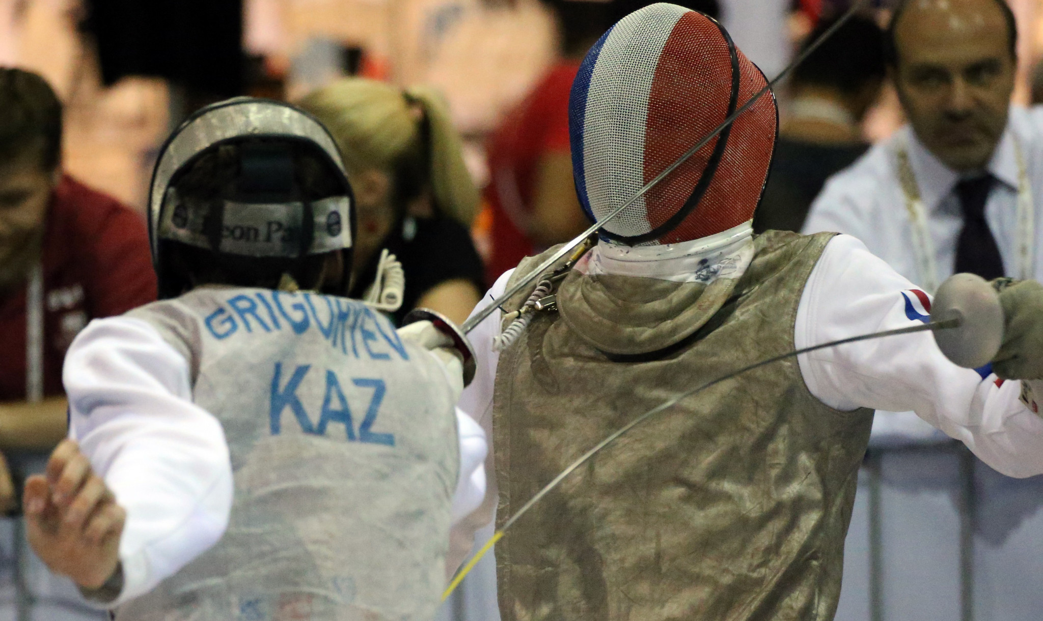 Kazakhstan took silver in the men's team epee, knocking out defending champions south Korea in the semi-finals ©Getty Images