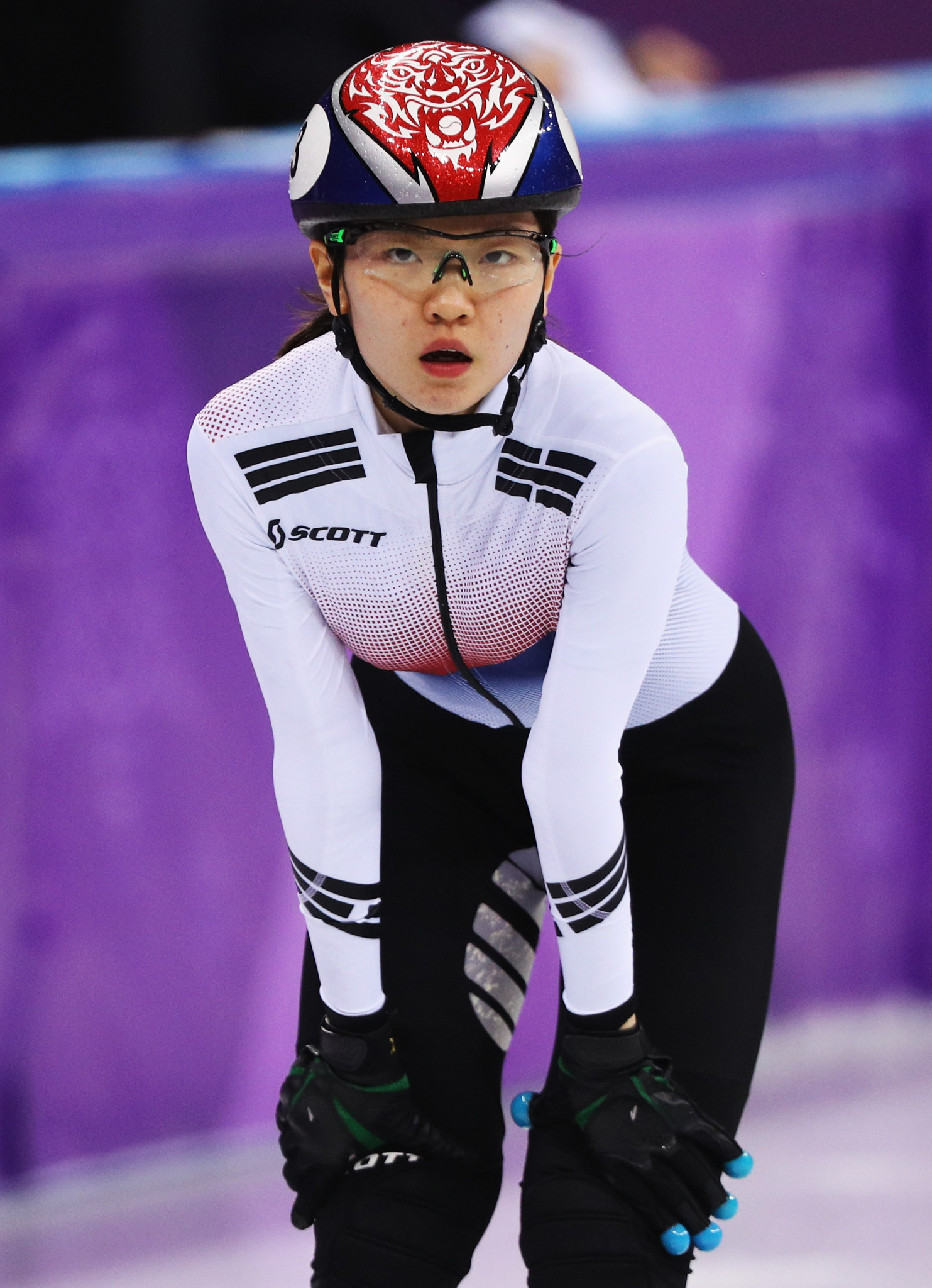 Shim Suk-hee was allegedly hit by Cho Jae-beom in January ©Getty Images