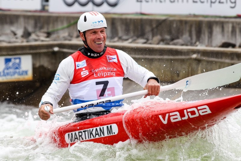 Slovakian legend to compete on home course in first ICF Canoe Slalom World Cup event of season
