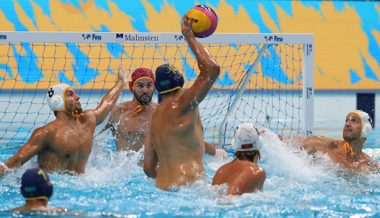 Montenegro made it through to the semi-finals after beating Kazakhstan comfortably at the Duna Arena in Budapest ©FINA