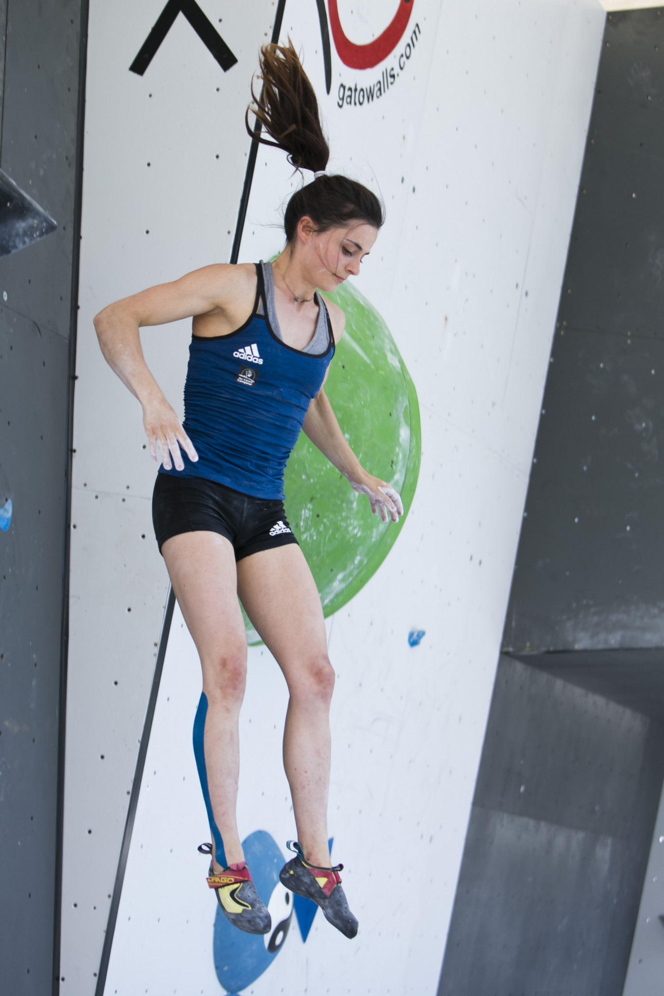 France's Maëlys Agrapart came out on top in the women's bouldering qualifying ©FISU