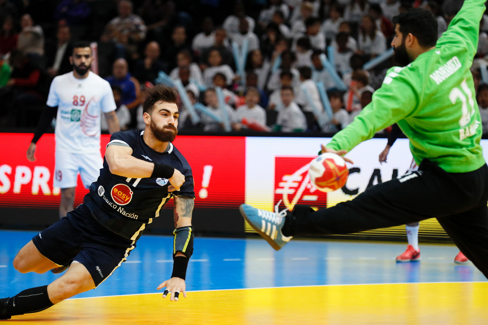 Argentina beat Chile to top spot in Group A at Pan American Men's Handball Championship