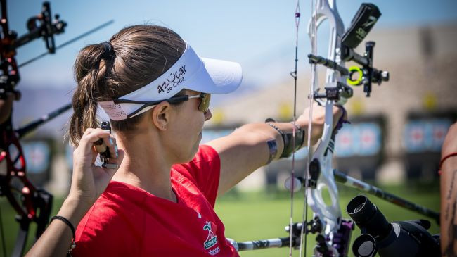 Ochoa-Anderson earns spot in women's compound final at Archery World Cup in Salt Lake City