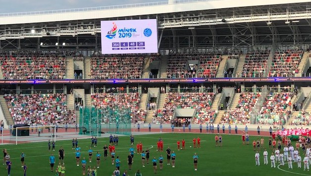 Minsk 2019 will be the biggest sporting event in the history of Belarus ©Minsk 2019