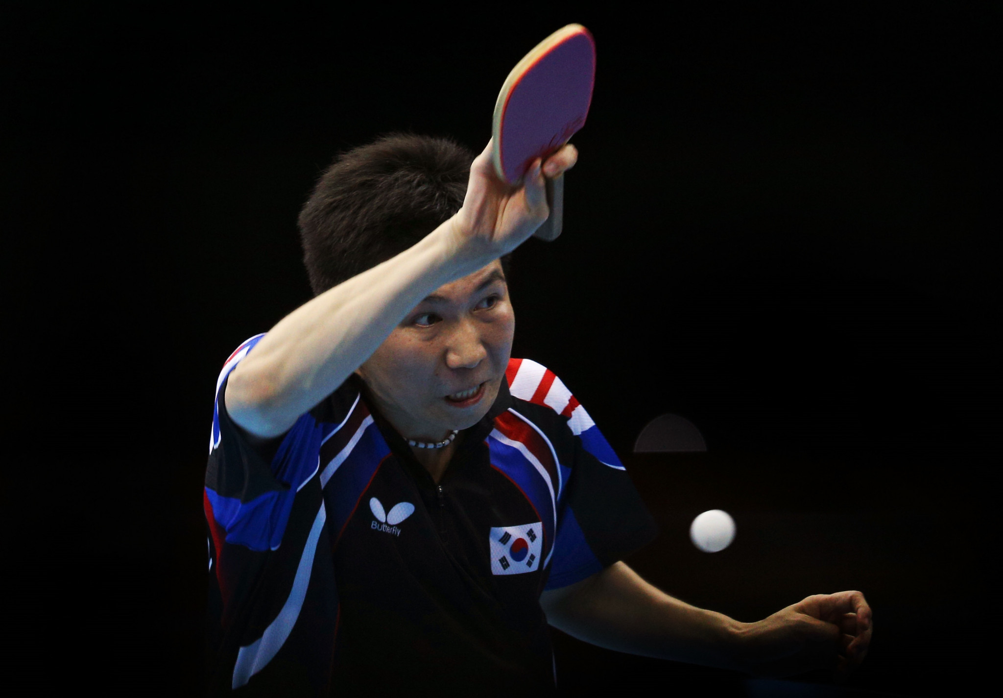 Ryu among participants as two Koreas, China and Japan celebrate Olympic Day with friendly table tennis event