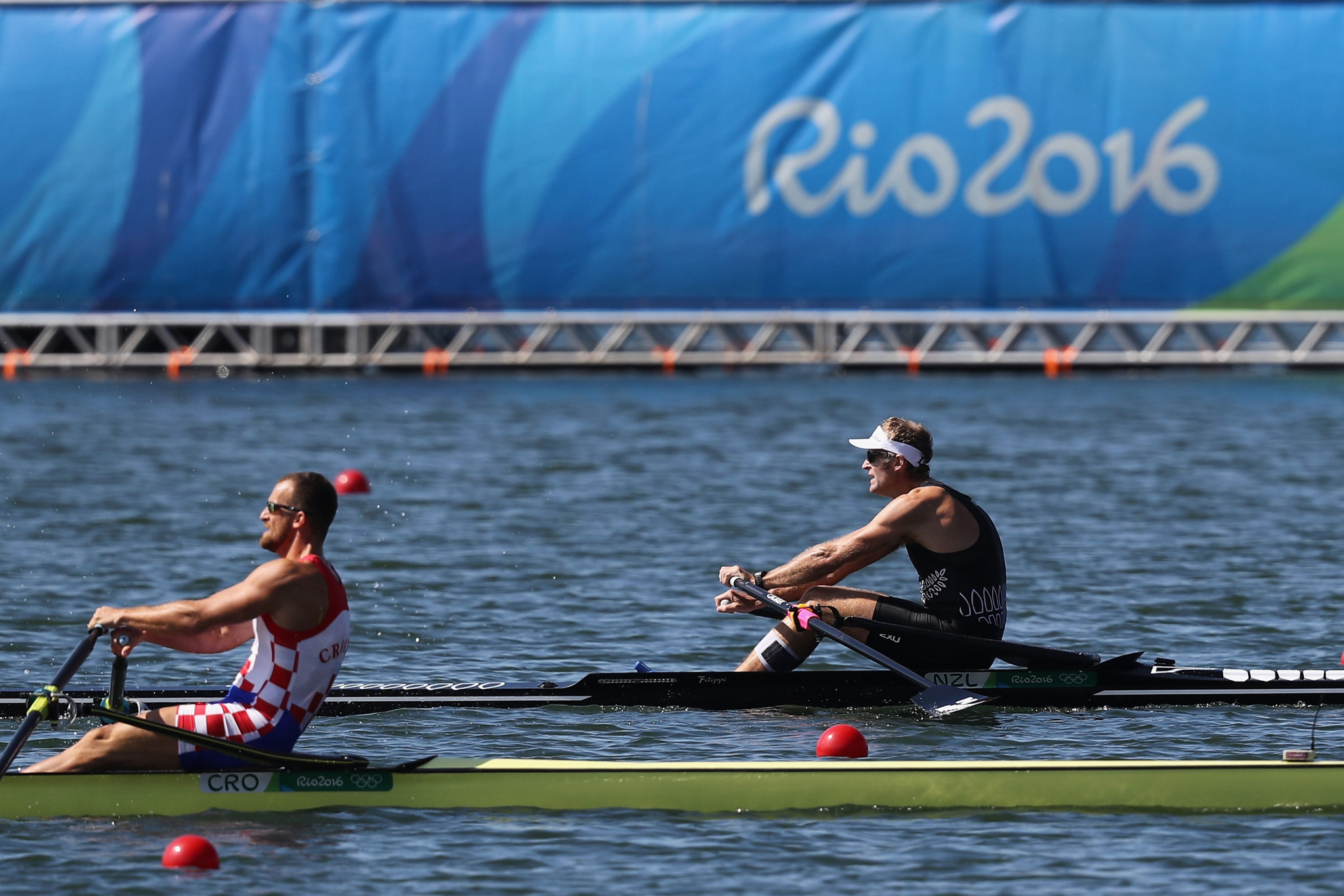 Olympic champion Drysdale marks return to international action by winning heat at World Rowing Cup