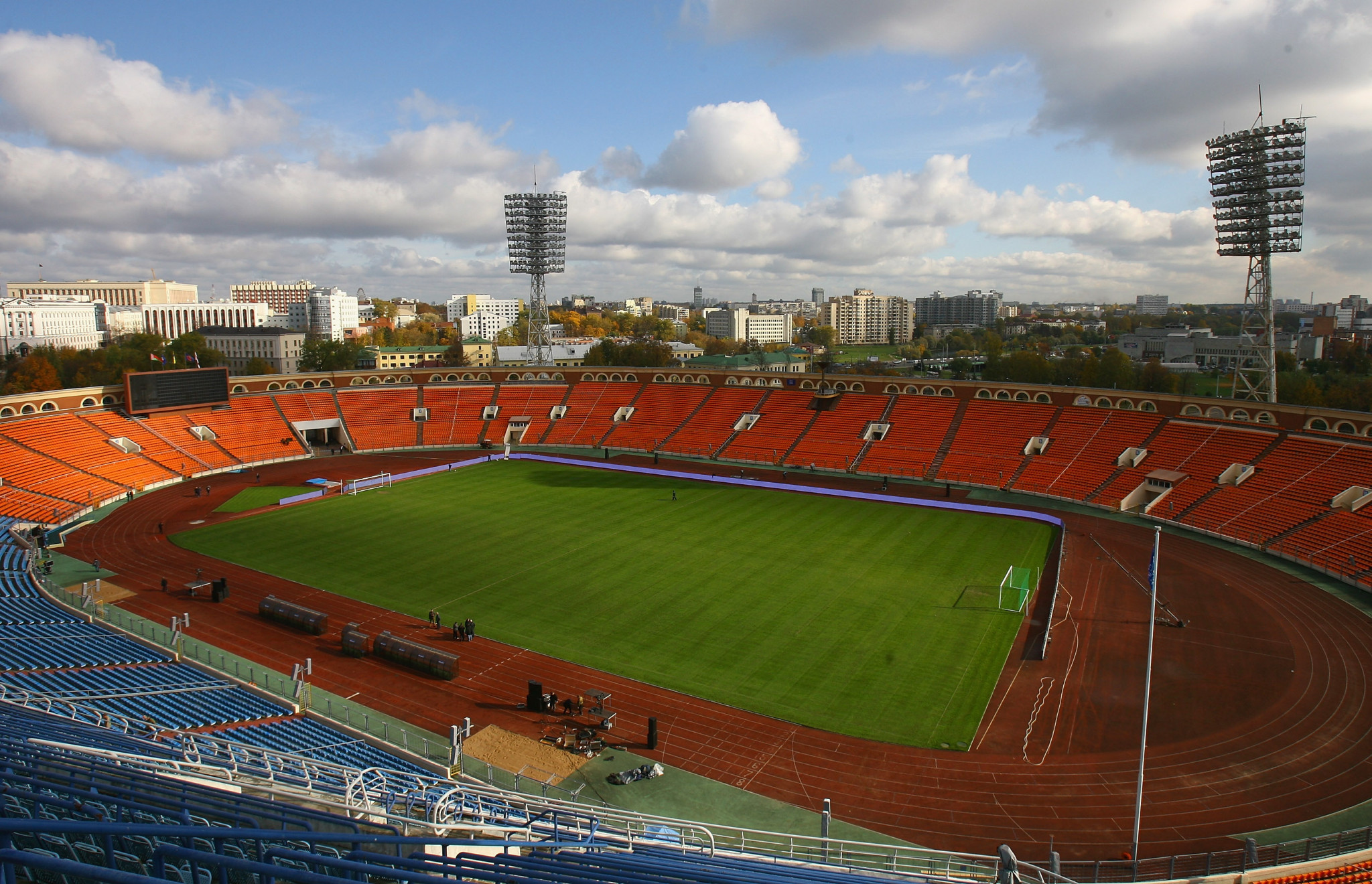 Coe and Clegg impressed with Minsk's Dinamo Stadium ready for European Games