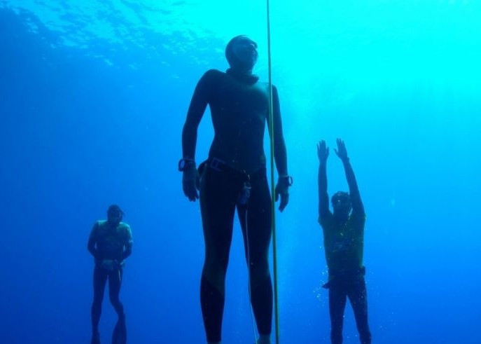 The World Underwater Federation have Olympic ambitions for freediving ©CMAS