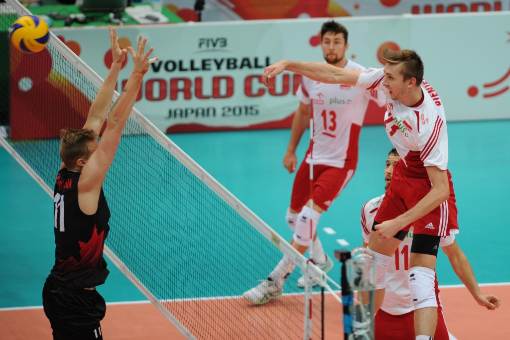 Poland and the United States make it six of the best at FIVB Volleyball Men's World Cup