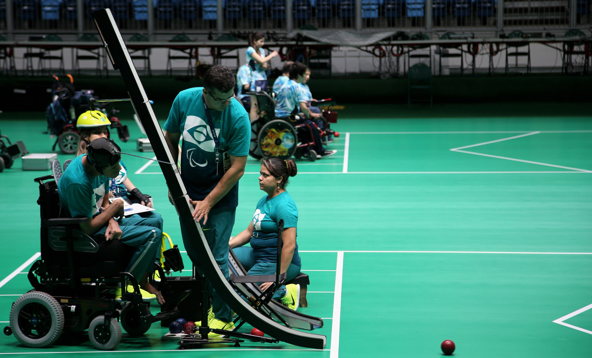 The panel will give boccia athletes more of a voice ©Getty Images