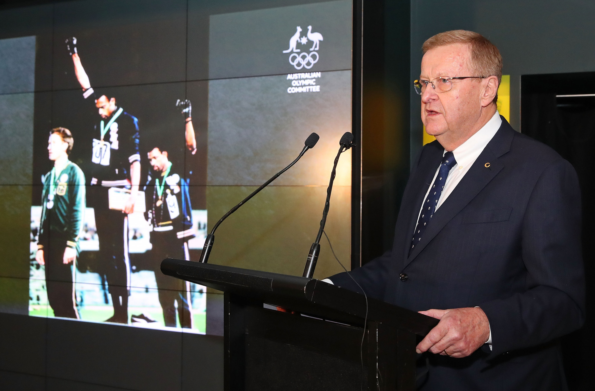 AOC award Olympic Order of Merit to family of Peter Norman