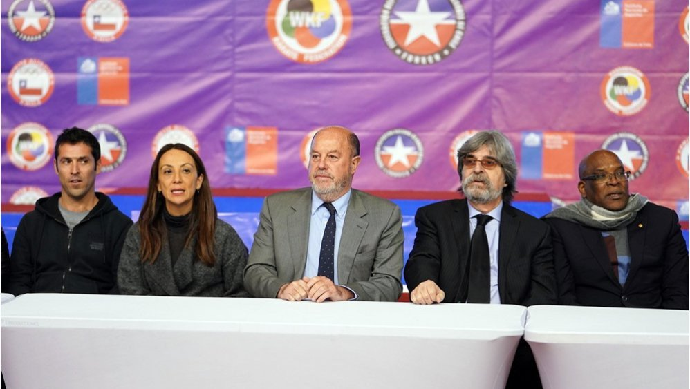 WKF President discusses progress of karate in the Americas