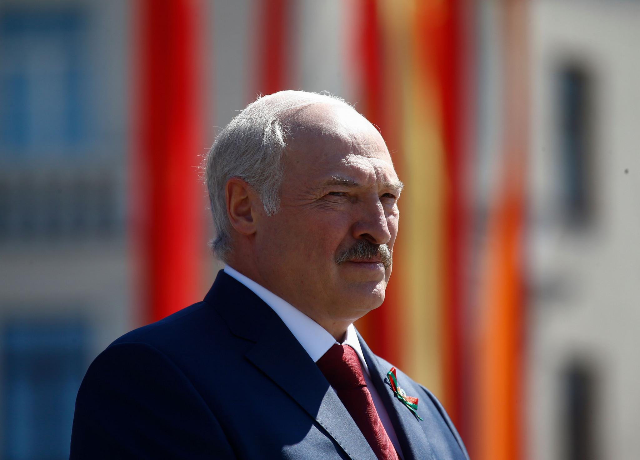 Alexander Lukashenko met with IAAF President Sebastian Coe ©Getty Images