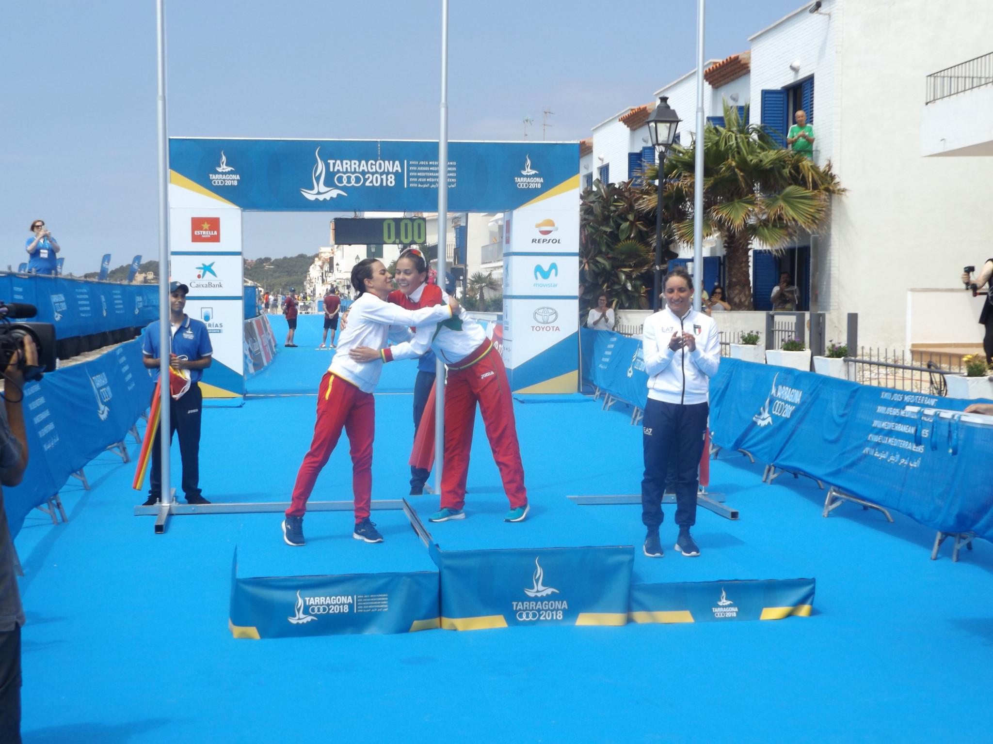 Portugal win first gold medals of Mediterranean Games in triathlon